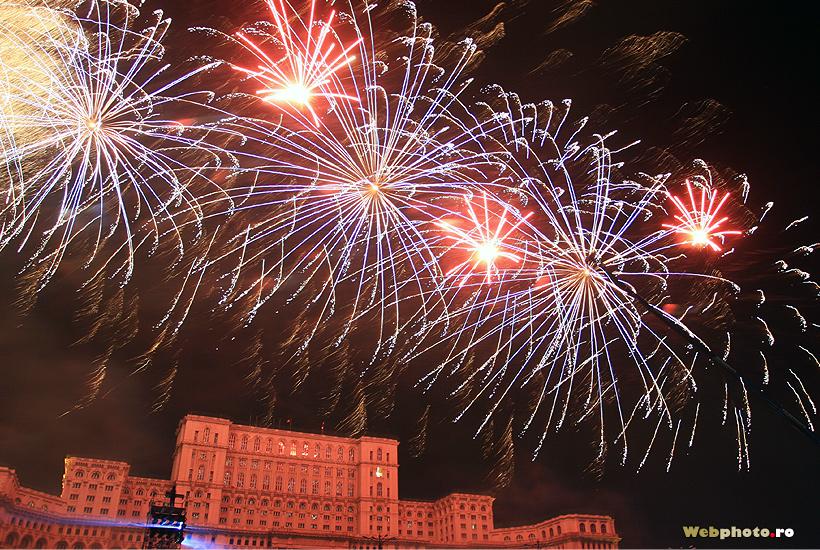 palatul parlamentului artificii