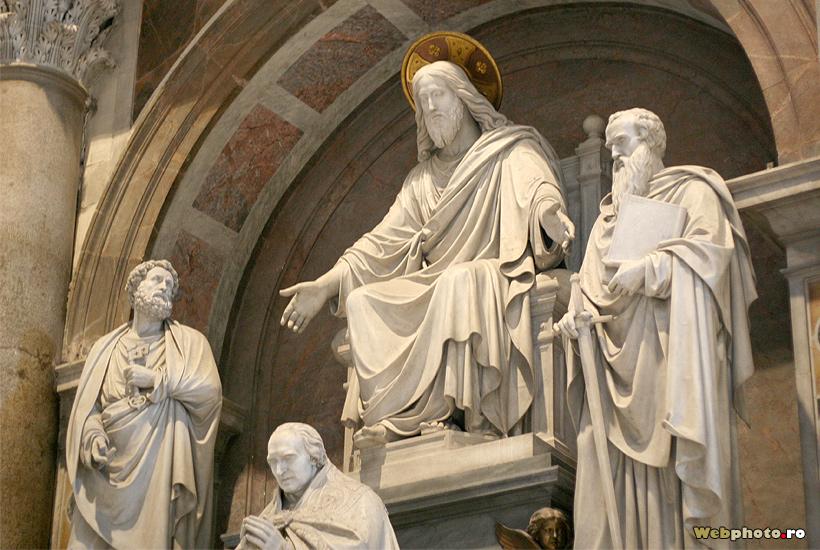 statuie Iisus Hristos