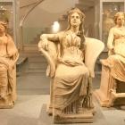 sitting goddesses