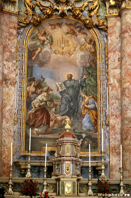 altar baroc