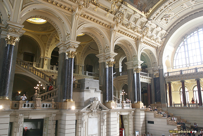 Ethnographic Museum Budapest In The Former Palace Of