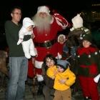 Santa Claus family
