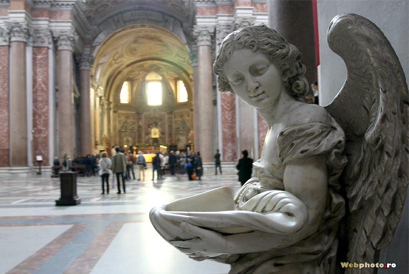 Imagini pentru biserica santa maria a îngerilor și a martirilor