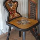 scaun sculptat