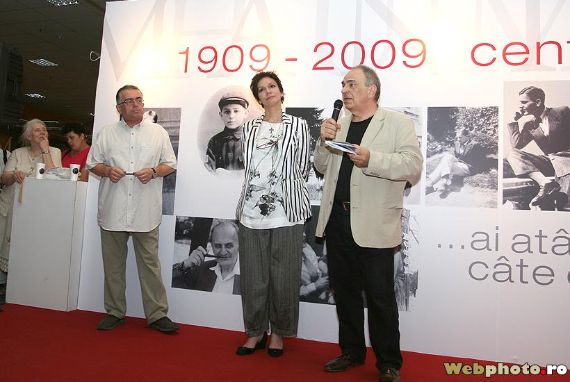 Dan C Mihailescu, Oana Pellea, Gabriel Liiceanu