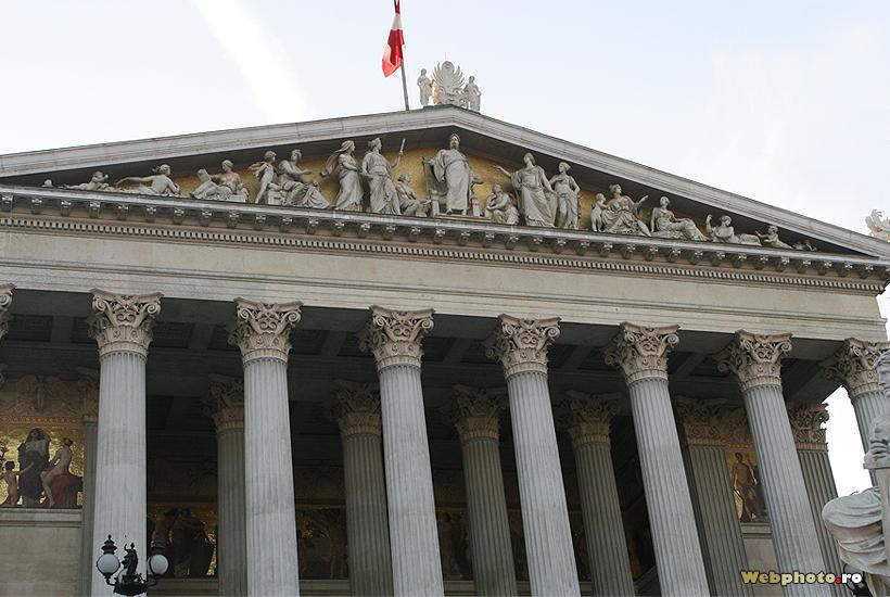 fronton parlament