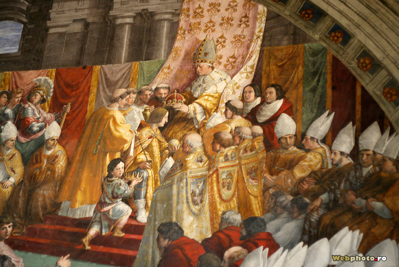 the imperial coronation of charlemagne The most famous incident in which napoleon associated himself with charlemagne was his coronation in notre-dame  the republic with his later wars of imperial.
