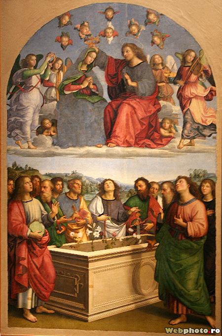 incoronarea Mariei, Rafael