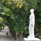 Schonbrunn alley