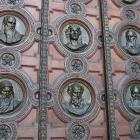 sculpted door