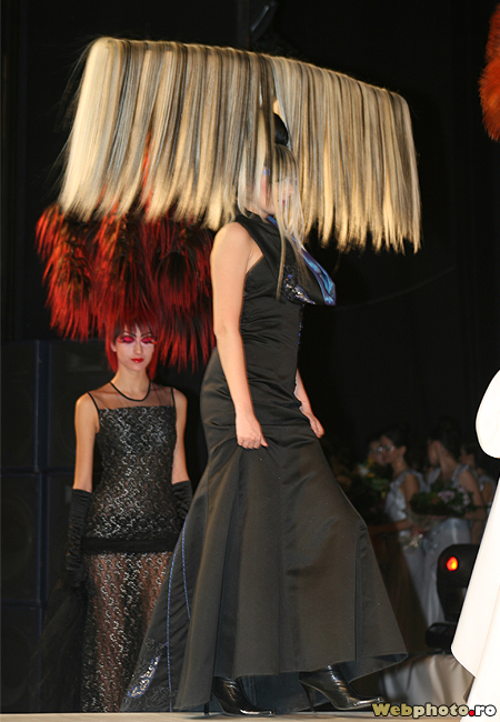The most spectacular haute couture haircuts at wella for Haute hairie