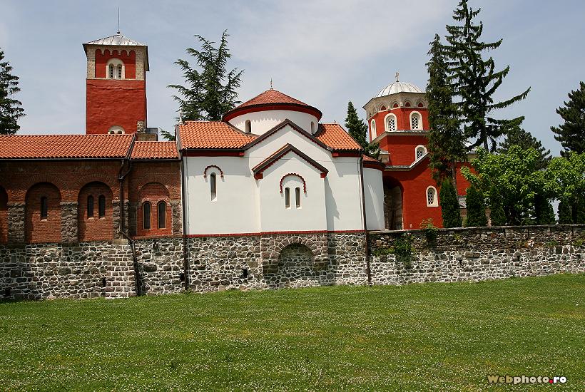 manastire serbia