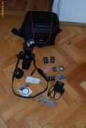 Vand Aparat foto Olympus E-420 + blitz Metz + toate accesoriile