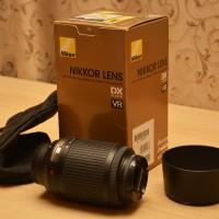 Vand obiectiv Nikon AF-S DX Nikkor 55-200mm ED VR + Filtru UV Kenko