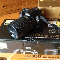 Vand Nikon D3100 + Nikkor 18-105 VR