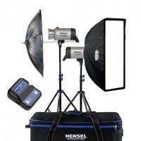 Hensel Integra plus, 500Ws FM10 kit 2 blitz-uri si accesorii–2 kituri