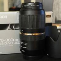 Obiectiv Tamron SP 70-300 mm F/4-5.6 Di VC USD montura Canon